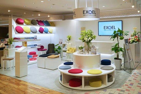 Exgel Seating Lab Fukuoka Mitsukoshi Lachic