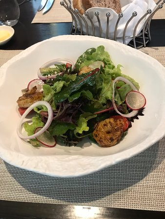 Superb creole shrimp salad