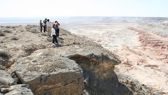 Balkanabat, تركمانستان: Yangykala trip from Trawelco