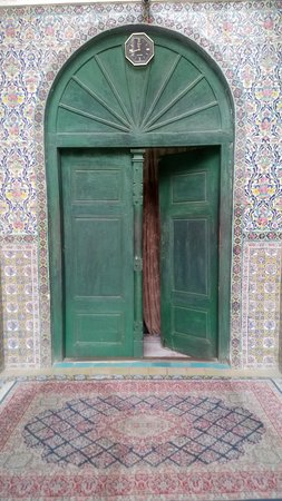 Mahan, Iran: The entrance of the mosque
