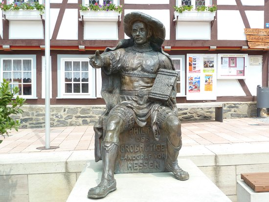 Statue ''Landgraf Philipp der Grossmutige''