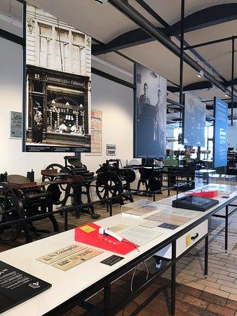 histoire industrie graphique, 4ème étage