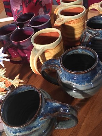 Messy Crow offers island and Maritime made pottery