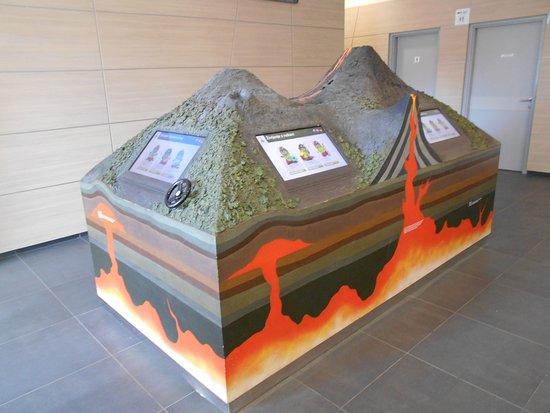 Grad, Slovenia: Volcano model in Vulkanija Goričko