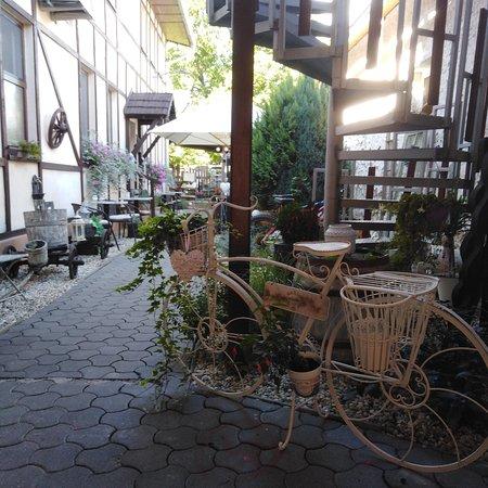 Vysny Medzev, Slovakia: Bike of course...
