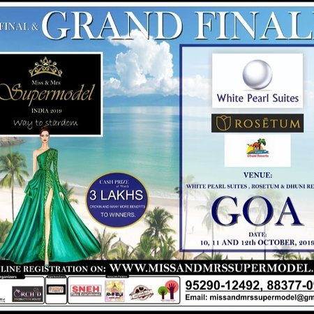 Dhuni Resorts Goa to host the Grand Finale of Miss & Mrs Supermodel India 2019