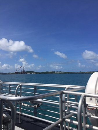 Going Home to Vieques by ferry is an adventure!!!