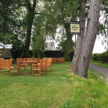 Meikleour, UK: Lovely  seating area