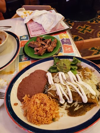 image relating to Cafe Rio Printable Menu named Mi Tierra Restaurant Bakery, San Antonio - Downtown - Menu