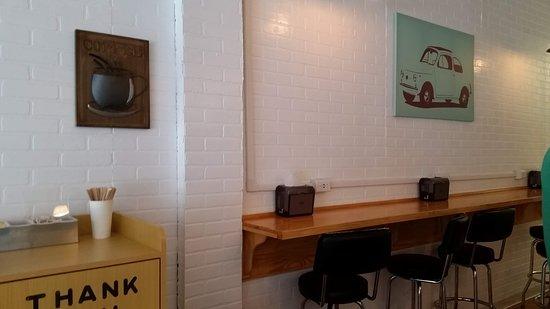 Ambler, PA: The lovely wall counter at Zerogradi