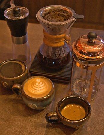 Prueba nuestros métodos de cafe.