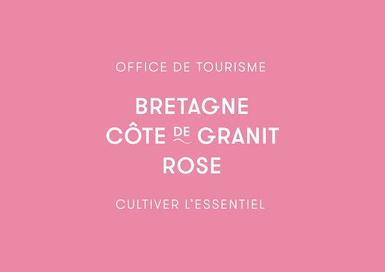 Lannion, Fransa: Logo Office de Tourisme Bretagne Côte de Granit Rose