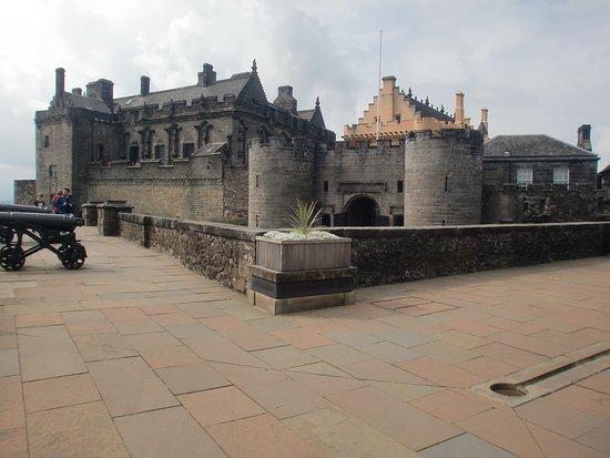 Toegangskaartje tot Stirling Castle: vista parcial do castelo