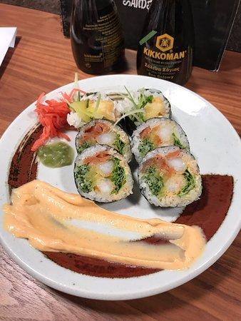 Abendessen im Sushi Restaurant