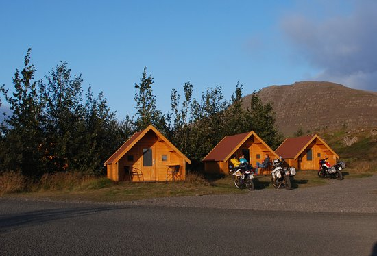 Borgarbyggd, Islanti: Bikers and hikers prefer these cheaper rooms and they share a large bathroom/shower facility.