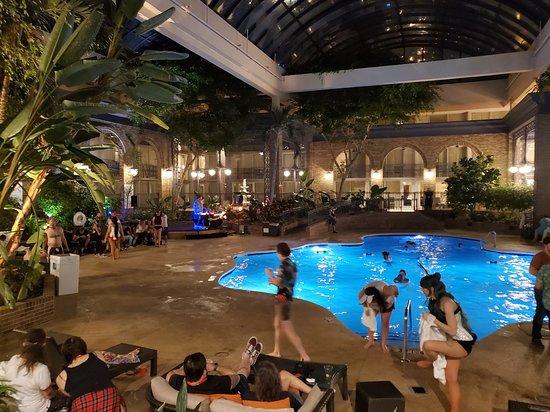 Sheraton Atlanta Hotel: Thursday night DragonCon Tiki Party