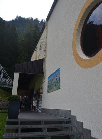 la stazione a valle