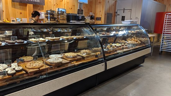 Readington, NJ : Bakery counter - pies, cookies, other sweets. Also gluten-free stuff if that's your thing.