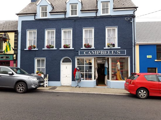 Ardara, Irlandia: Our new Colour Scheme..