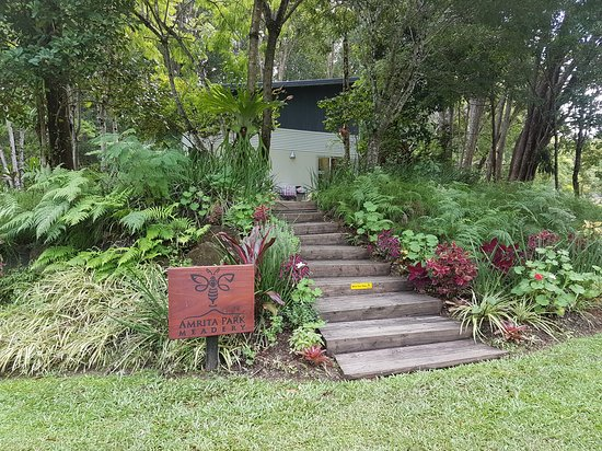 Amrita Park Meadery: Beautiful Gardens Upon Entry
