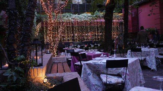 Terraza Fotografía De Fortuny Restaurant Club Madrid