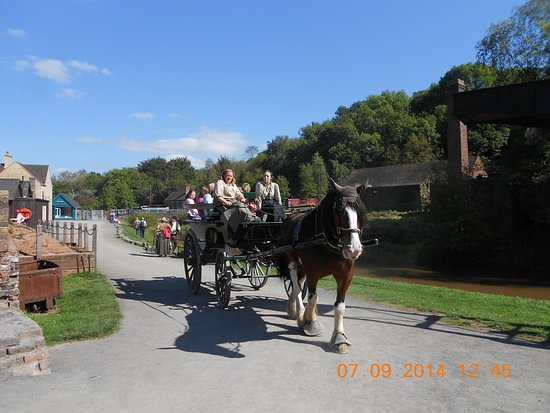 Blists Hill Victorian Town : Annual Passport Ticket: mode of transport