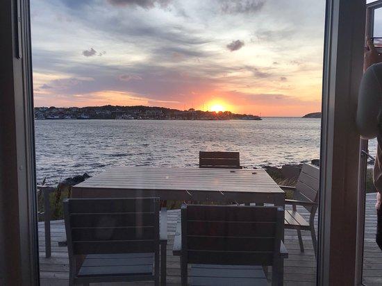 Hono, Suède : Utsikt från rummet...