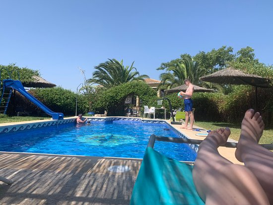 Villa del Rey, Spania: Pool at the villa
