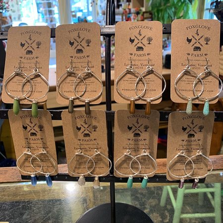 Blue Moon Clothing & Gifts: Locally crafted jewelry.