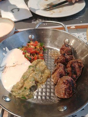 Ramat Yishay, Israël: lamb kebab