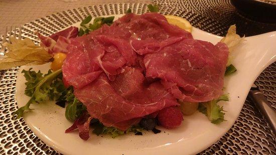 Santa Giuletta, Italien: Secondo piatto - carne di ottima qualità
