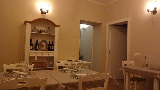 Santa Giuletta, Italien: La piccola sala da pranzo