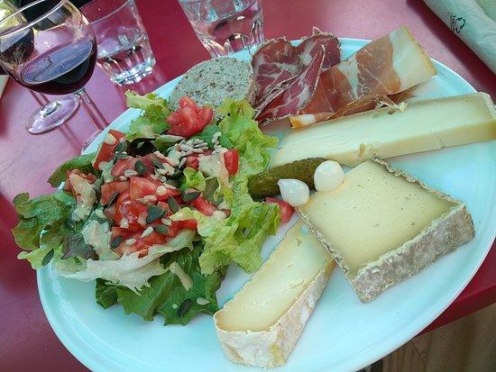 Saint-Christophe-en-Oisans, Frankrike: l'assiette Berardine