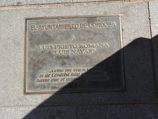 Monumento a Luis Prieto Romana Luis Navas