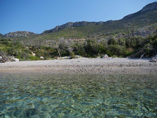 Trstenik, Kroatia: beach Zamali