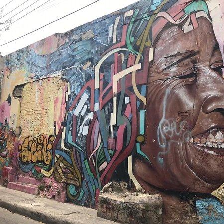 Cartagena tem um dos melhores cenários artísticos do Caribe para o seu álbum de fotos.