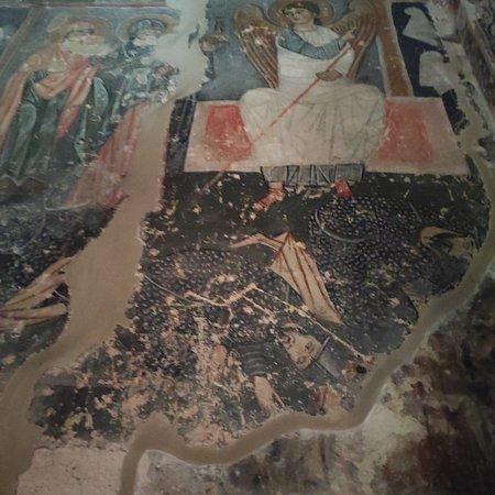 Katskhi, Georgia: Фрески и иконы Сванетии. 10 век!!!