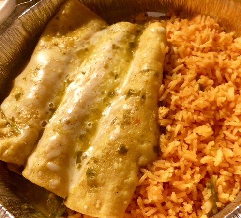 Prince George, VA: Enchiladas Verdes