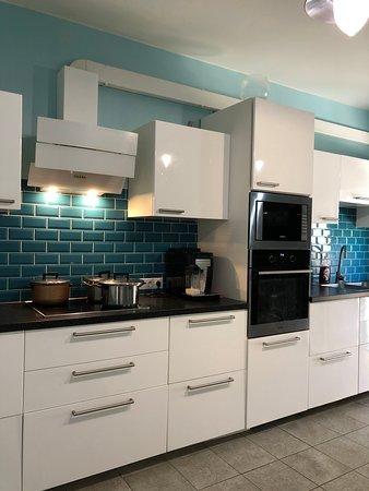 Andreana Guest House: Общая кухня
