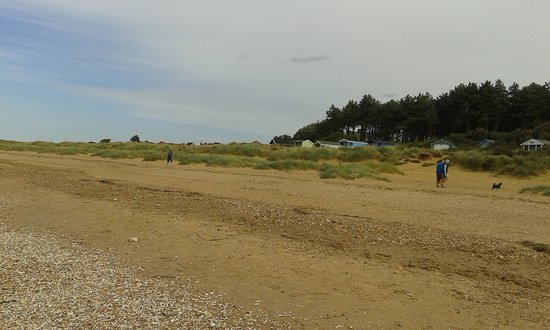 Old Hunstanton, UK: The Beach