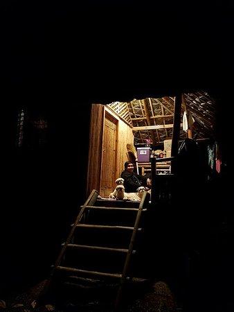 A night in a native house in Jam's Sierra Lake Homes, Cavinti, Laguna, Philippines