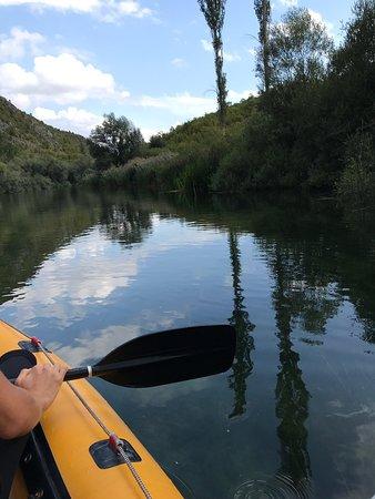 Rafting on Cetina