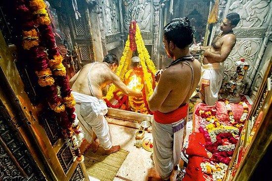 Recorrido de 4 horas por Varanasi: templos con danza clásica y Ganges Aarti: 4-hours tour of Varanasi: Temples with Classical Dance & Ganges Aarti