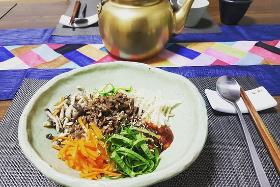 ソウル中心部での伝統的な韓国料理教室