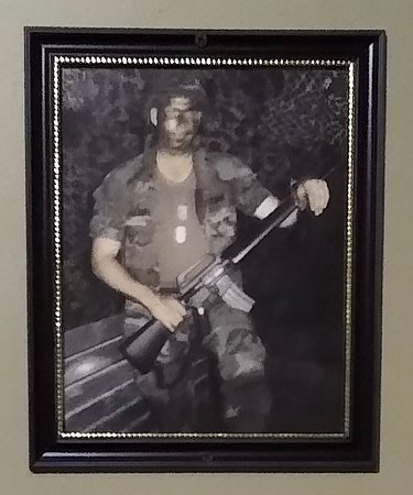 *Sneak peek* This is a picture you will find in The Mission. He is the founder and owner of Ole York Xscapes. After serving in the Army and as a Veteran of Desert Storm, he chose to make The Mission his 1st escape room to honor Veterans and show his love for America. Tag or Share a photo of a Veteran you love. #EscapeRoom #YorkSC #RockHillSC  #GastoniaNC #CharlotteNC #SpartenburgSC #Veterans #America
