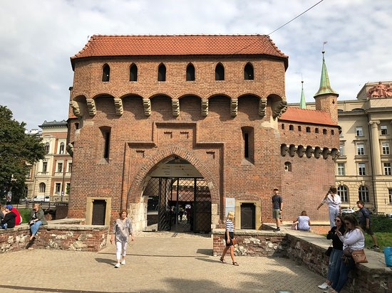 Good Visit to St Florian's Gate in Krakow