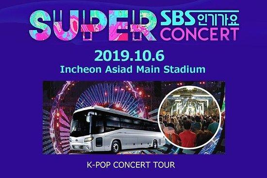 SBS Superkonsert i Incheon...