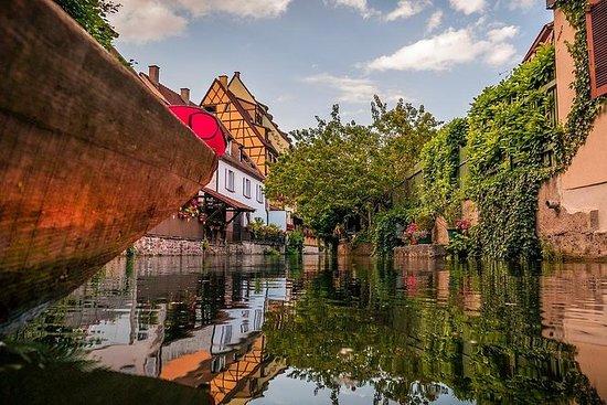 プライベートツアー:平底ボートでのコルマールとフィスターハウス!