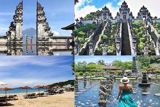 プライベートツアー:Lempuyang Templeの天国バリ島のゲートとバリツ…