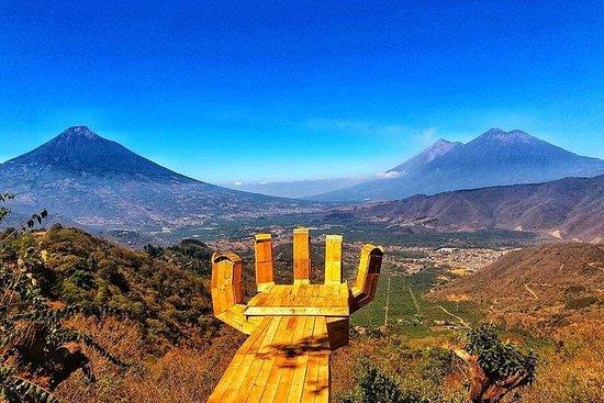 """Trekking Magestic Antigua""""s Valley: Trekking Magestic Antigua´s Valley"""